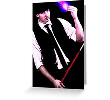 Gambit Style Portrait Greeting Card