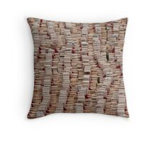 Remembrance Day - Crosses at Westminster Abbey   Throw Pillow