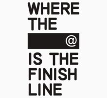 Where the line is the finish line by Alexander Suen