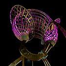 Nightime Scuplture by jonxiv