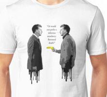 Walter Bishop - A Delicious Strawberry Flavoured Death! Unisex T-Shirt
