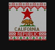 California Republic Bear on Christmas Ugly Sweater Pullover