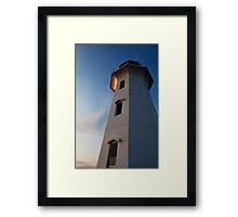 Safe Haven - Peggy's Cove Framed Print