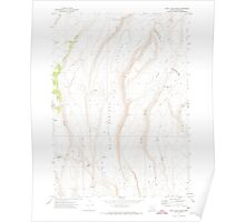 USGS Topo Map Oregon Rock Camp Draw 281293 1971 24000 Poster