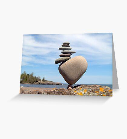 Stack on Balance Greeting Card