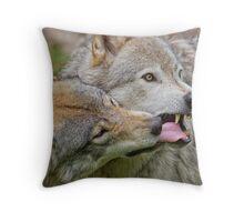 Taste testing Throw Pillow