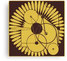 particle oscillator Canvas Print