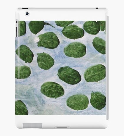 Impression Lilly Pads iPad Case/Skin
