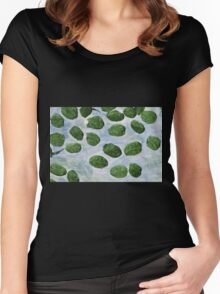 Impression Lilly Pads Women's Fitted Scoop T-Shirt