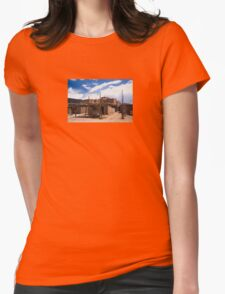 Taos Pueblo Womens Fitted T-Shirt