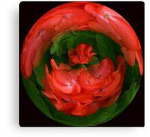 Red Geraniaum #1 Canvas Print