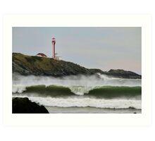 September Waves Art Print