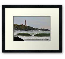 September Waves Framed Print