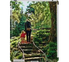 Mothers helping hand iPad Case/Skin