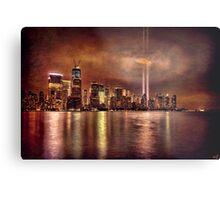 September 11th 2011, Downtown Manhattan Metal Print