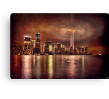 September 11th 2011, Downtown Manhattan Canvas Print