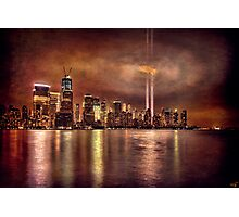September 11th 2011, Downtown Manhattan Photographic Print