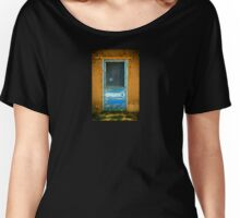 Taos Pueblo Screen Door Women's Relaxed Fit T-Shirt