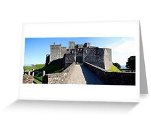 Panoramic view of Dover Castle, Kent Greeting Card