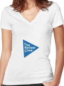 The Review Crew Women's Fitted V-Neck T-Shirt