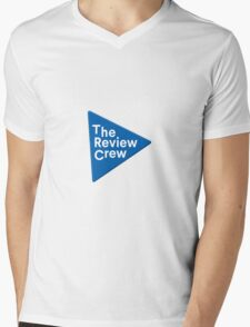 The Review Crew Mens V-Neck T-Shirt