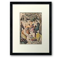 Caring Wife Framed Print
