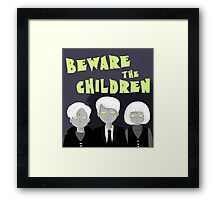 Village of the Damned Framed Print