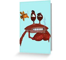 Keeping my eyes on you Greeting Card