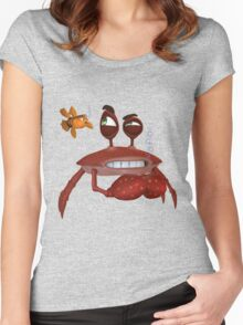 Keeping my eyes on you Women's Fitted Scoop T-Shirt