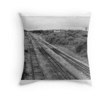 going west Throw Pillow