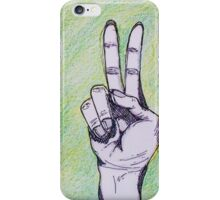 Finger iPhone Case/Skin