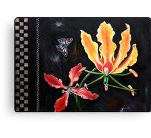 Exotic Flower Canvas Print