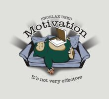 Snorlax Used Motivation... by Tom  Ledin