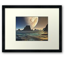 From A Distant Shore Framed Print