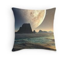From A Distant Shore Throw Pillow