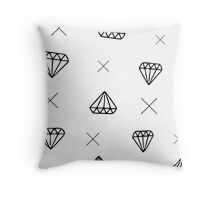 Cubic Zirconia Throw Pillow