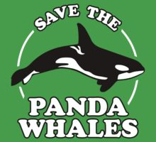 Save The Panda Whales by Dumb Shirts