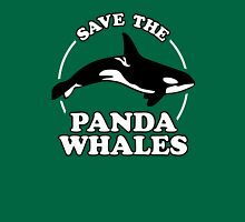 Save The Panda Whales Unisex T-Shirt