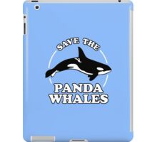 Save The Panda Whales iPad Case/Skin