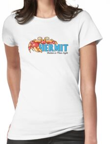 Hermit Womens Fitted T-Shirt