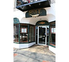 Spence Cafe Photographic Print