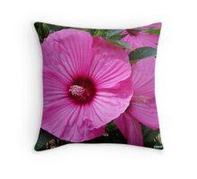 Hibiscus Wonder .... Throw Pillow