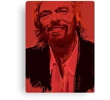Branson in Red Canvas Print