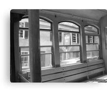 Trolley Ride Canvas Print