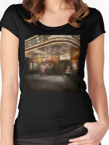 Movie - Double feature 1942 Women's Fitted Scoop T-Shirt