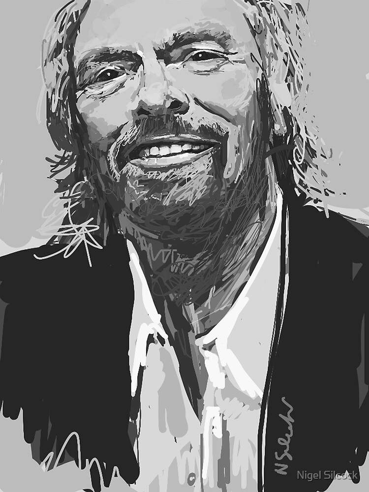 Richard Branson by Nigel Silcock