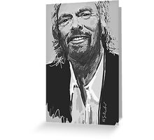 Richard Branson Greeting Card