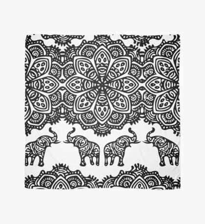 Indian Elephants Scarf