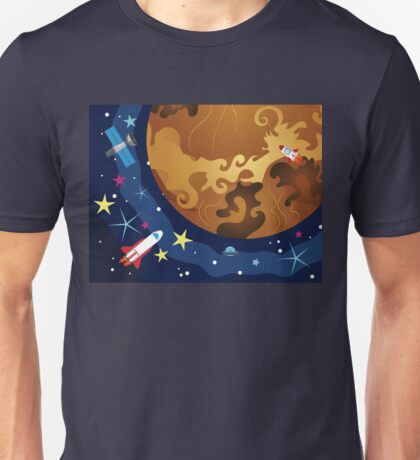 Venus in the Space 3 Unisex T-Shirt