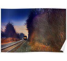 """ Sunset Express "" Poster"